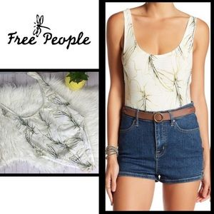 Just In! Free People Bodysuit, Size Sm